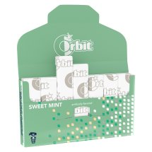Orbit Sweet Mint Sugarfree Gum, single pack