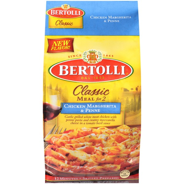 Bertolli Chicken Margherita & Penne Classic Meal for 2