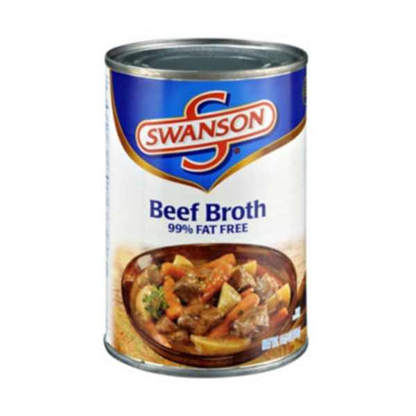 Swanson's Beef Fat Free Broth