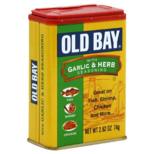 Old Bay With Garlic & Herb Seasoning