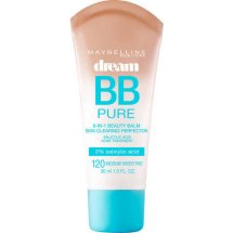 Maybelline Dream Pure BB 8-in-1 Skin Clearing Perfector, Medium