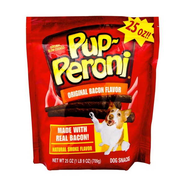 Pup-Peroni Dog Snacks Original Bacon Flavor