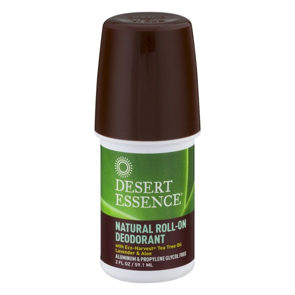 Desert Essence Natural Roll-On Deodorant Lavender & Aloe