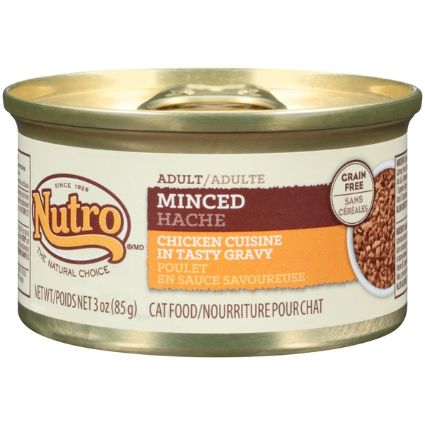 Nutro Adult Minced Chicken Cuisine in Tasty Gravy Cat Food