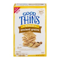 Good Thins Nabisco Good Thins The Wheat One Ancient Grains Snacks
