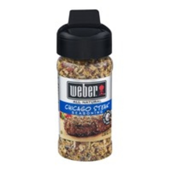Weber All Natural Seasoning Chicago Steak