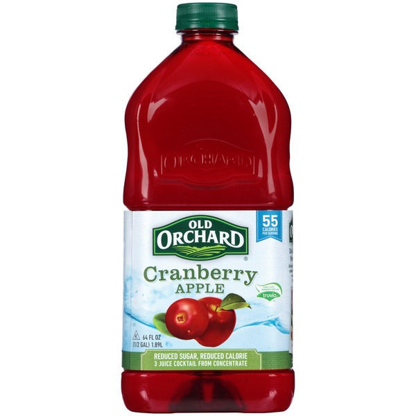 Old Orchard Cranberry Apple Juice Cocktail