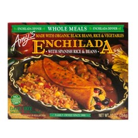 Amy's Enchilada with Spanish Rice & Beans Meal