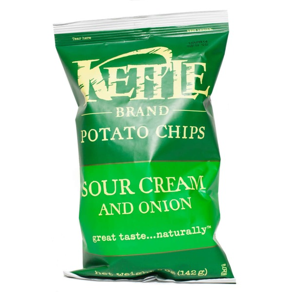 Kettle Brand® Sour Cream & Onion Potato Chips