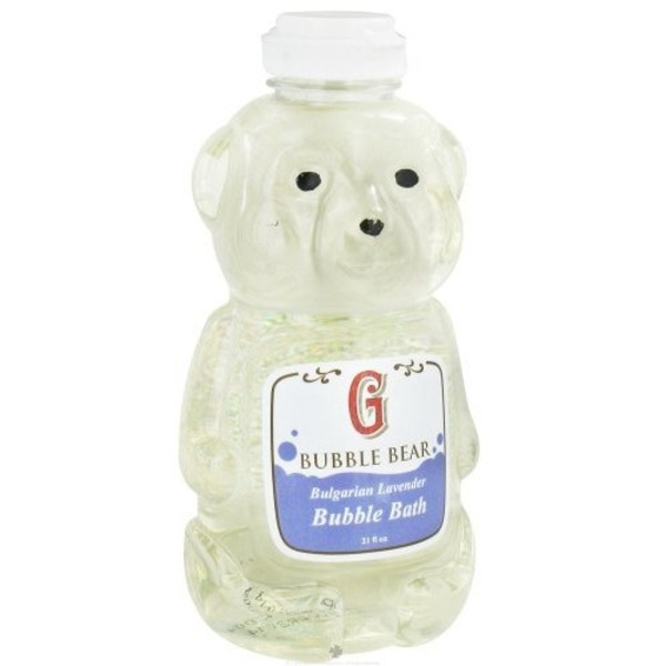 GriffinRemedy Bulgarian Lavender Bubble Bath Bear
