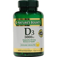 Nature's Bounty Vitamin D3 5000 Iu Softgels