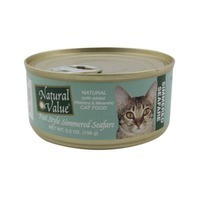 Natural Value Cat Food Pate Simmered Seafare