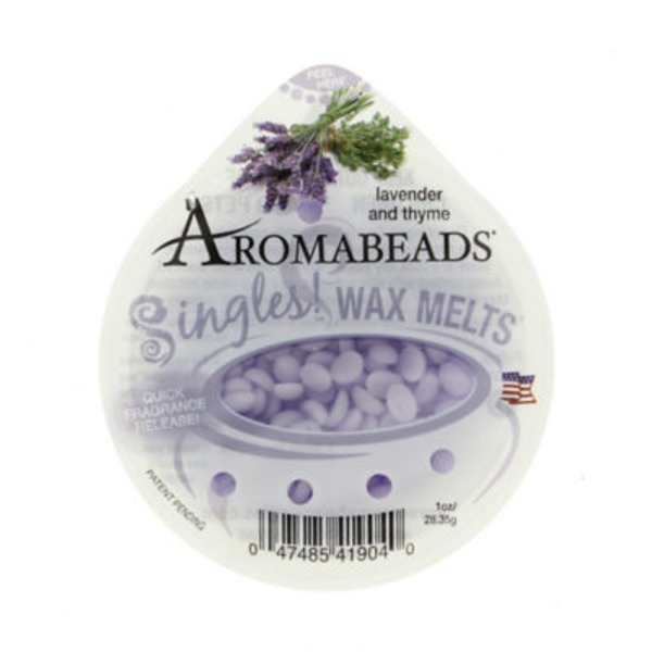 Aromabeads Singles Wax Melts, Lavender And Thyme