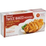 Home Style Harvest 3 Cheese Twice Baked Potato, 4 - 6 oz potatoes