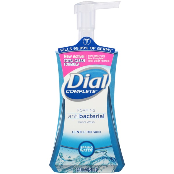 Dial Foaming Hand Wash Foaming Antibacterial Spring Water Hand Wash