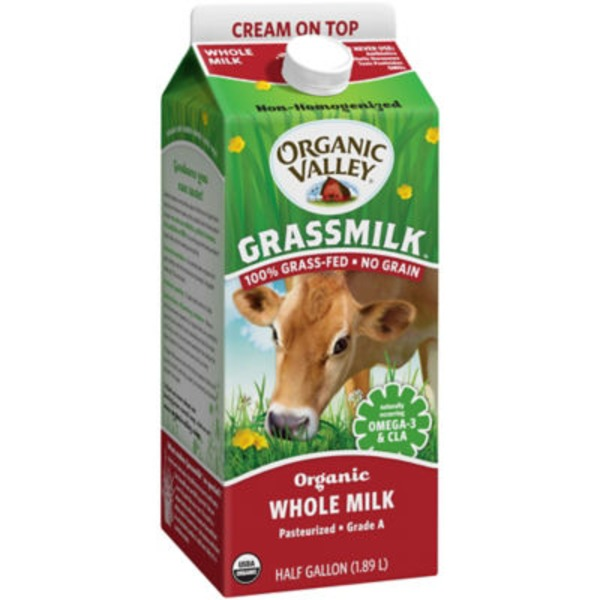 Organic Valley Grassmilk Organic Whole Milk
