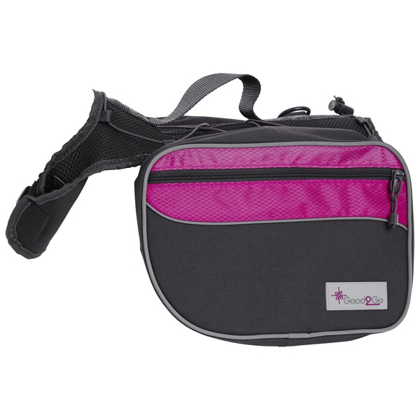 Blue Buffalo G2 Go Pink/Gray Backpack
