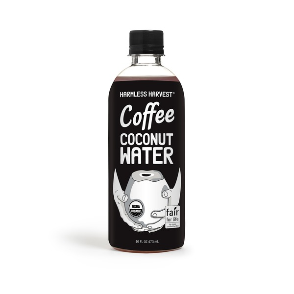 Harmless Harvest 100% Raw Coconut Water With Fair Trade Coffee