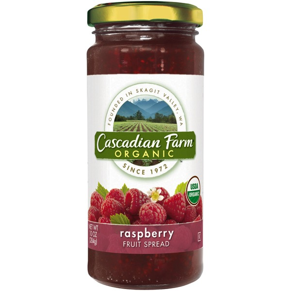 Cascadian Farm Organic Raspberry Fruit Spread