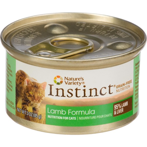 Nature's Variety Lamb Formula Cat Food