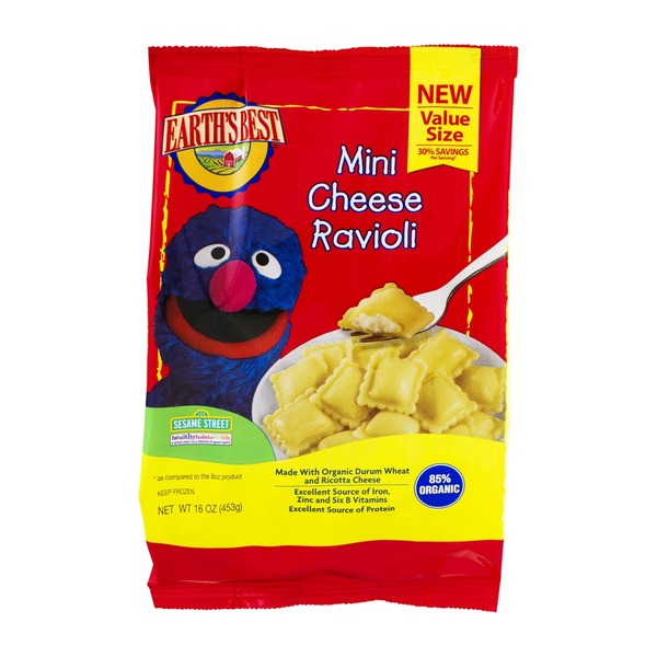 Earth's Best Mini Cheese Ravioli