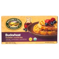 Nature's Path Organic Organic Gluten Free & Wheat Free Buckwheat Wildberry Waffles