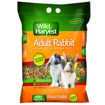 Wild Harvest Advanced Nutrition Diet for Adult Rabbits, 14 lbs