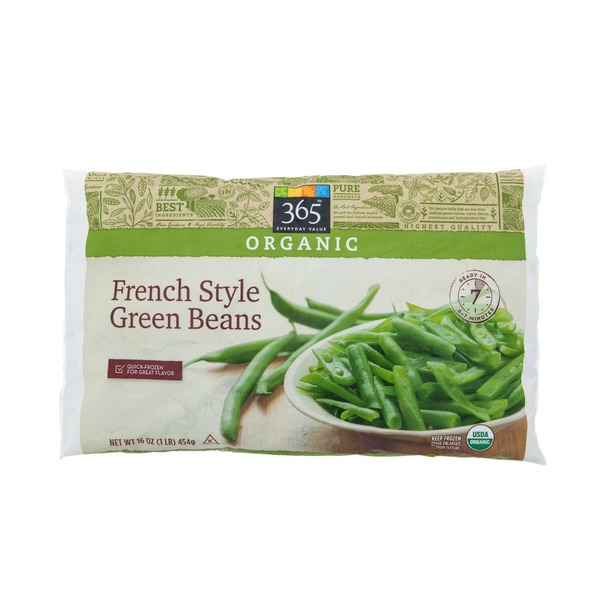 365 Organic French Style Green Beans