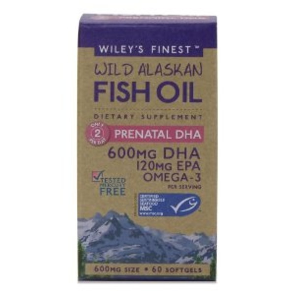 Wiley's Finest Fish Oil Prenatal Dha