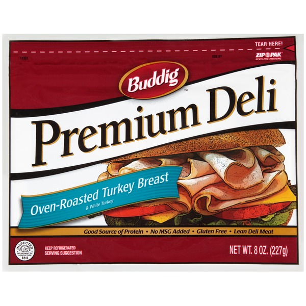 Buddig Premium Deli Oven-Roasted Turkey Breast