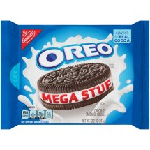 Nabisco® Oreo® Mega Stuf Chocolate Sandwich Cookies 13.2 oz. Tray