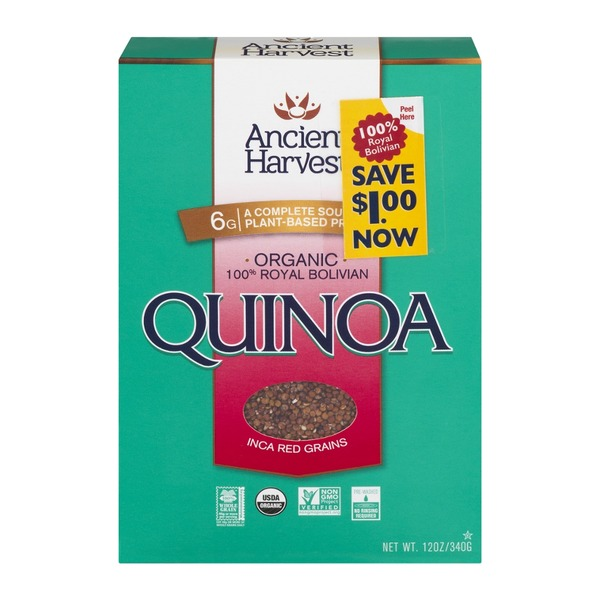 Ancient Harvest Organic Inca Red Quinoa