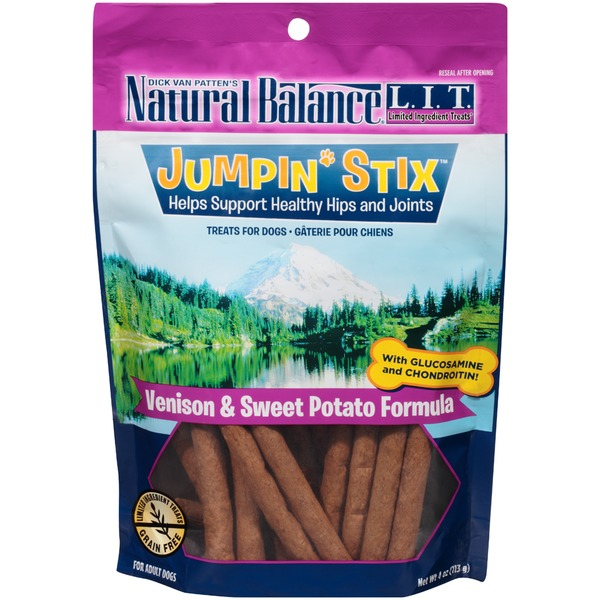 Natural Balance Jumpin' Stix Venison & Sweet Potato Formula Dog Treats
