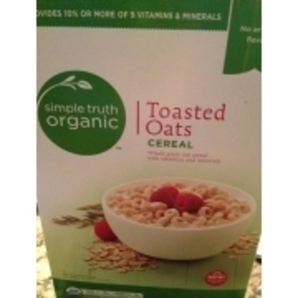 Simple Truth Toasted Oats Cereal