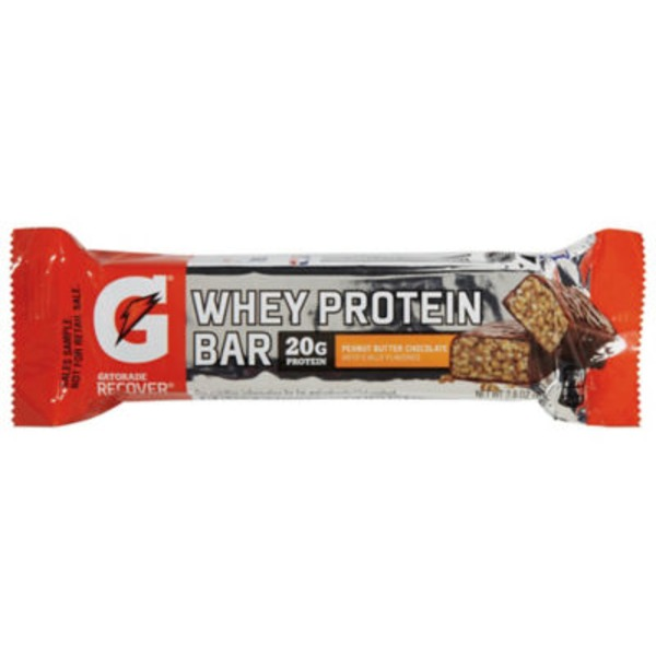 Gatorade Recover Peanut Butter Chocolate Whey Protein Bar
