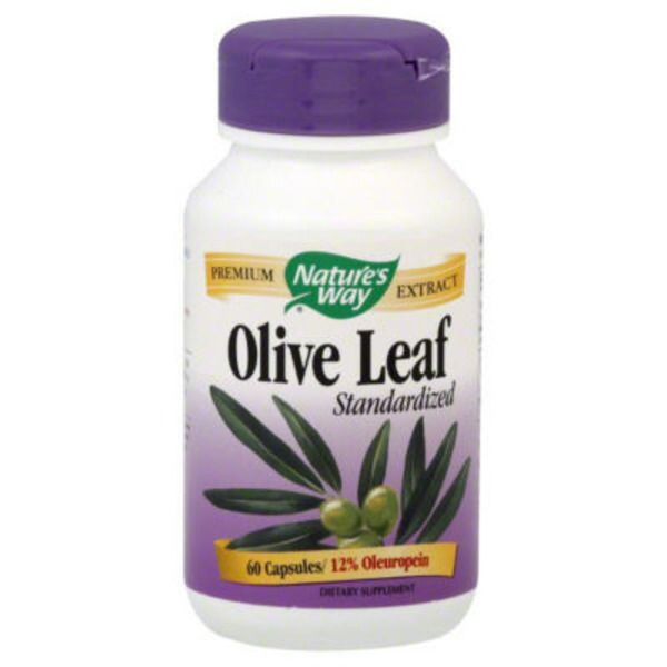 Nature's Way Standardized Olive Leaf - 60 CT