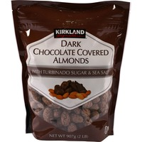 Kirkland Signature Dark Chocolate Covered Turbinado Almonds