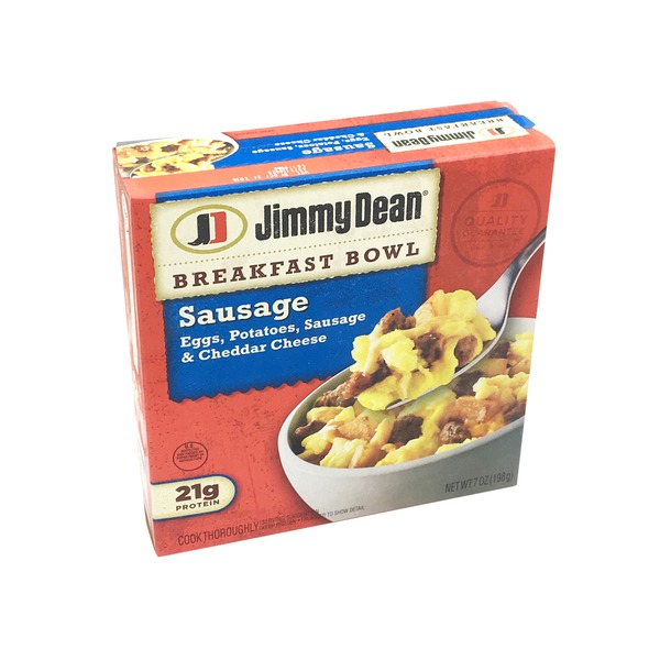 Jimmy Dean Breakfast Bowl Sausage