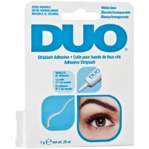 Duo Striplash Adhesive, White/Clear, 0.25 oz