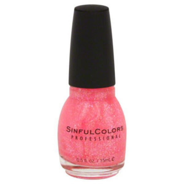 Sinful Colors Nail Color - Pinky Glitter 830