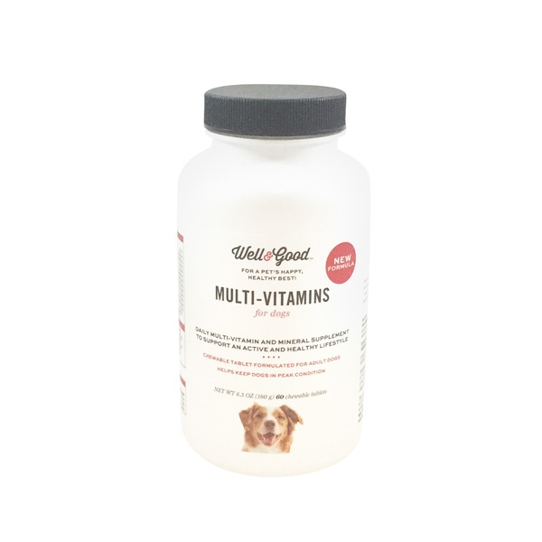 Well & Good Adult Stage Vitamins for Dogs