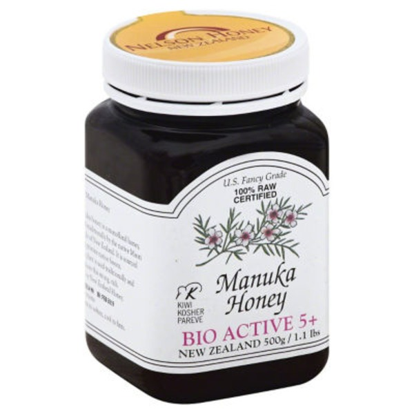 Nelson Honey Manuka Honey Bio Active 5+