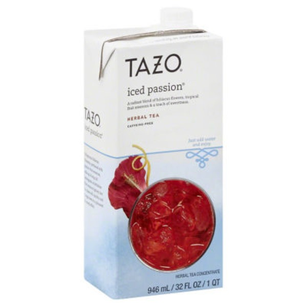 Tazo Tea Iced Passion Tea Concentrate