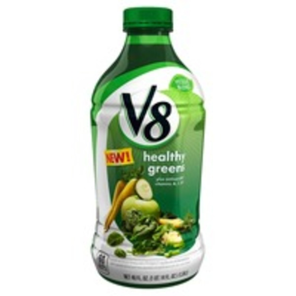 V8 Healthy Greens Vegetable & Fruit Juice Beverage