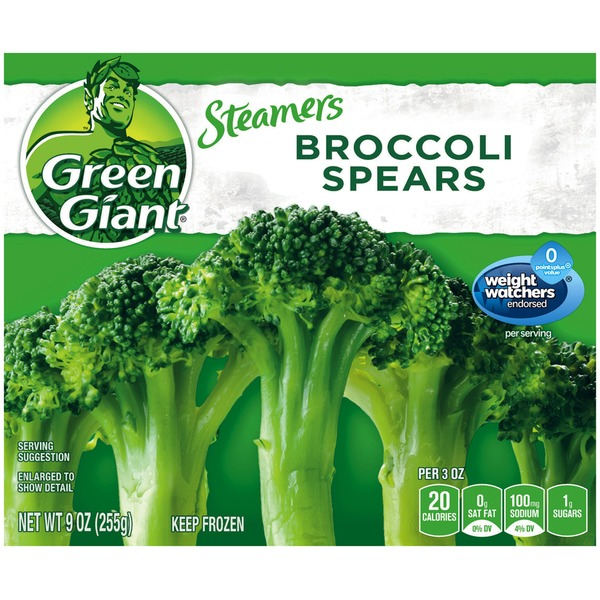 Green Giant Broccoli Spears Steamers