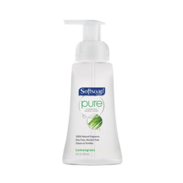 Softsoap Pure Foaming Hand Soap Lemongrass