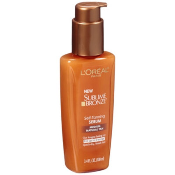 Sublime Bronze Medium Natural Tan Self-Tanning Serum