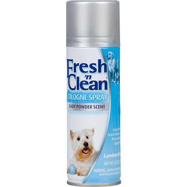 Lambert Kay Fresh 'n Clean Baby Powder Dog Spray