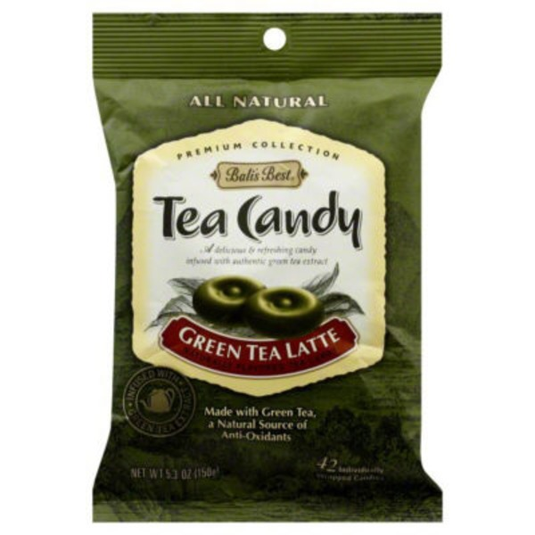 Bali's Best All Natural Green Tea Latte Candy - 42 CT
