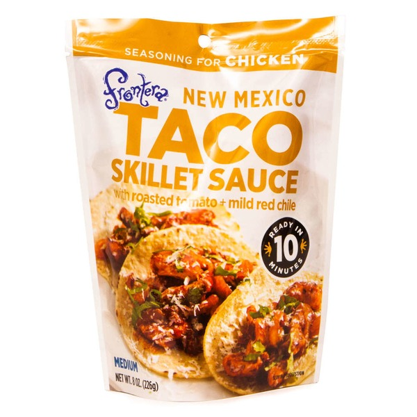 Frontera Fontera New Mexico Taco Chicken Seasoning Skillet Sauce